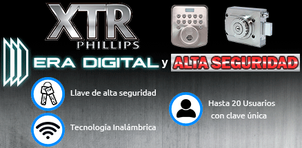 PHILLIPS XTR Digital en DIPRO-SEG Guadalajara.
